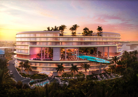 Rendering of the Hilton Lagos Airport Hotel
