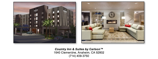 Country Inn & Suites by Carlson™, Anaheim, CA - Exterior and Lobby
