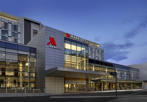 Calgary Airport Marriott In-Terminal Hotel - Exterior