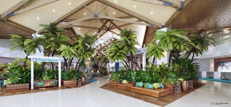 Margaritaville Resort Orlando Reveals First Hotel Lobby