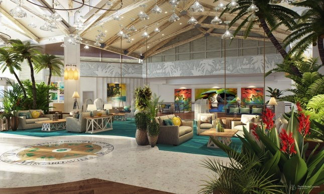 Margaritaville Resort Orlando lobby