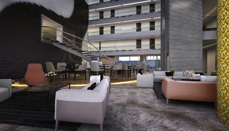 Radisson Hotel Santa Cruz in Bolivia - Lobby