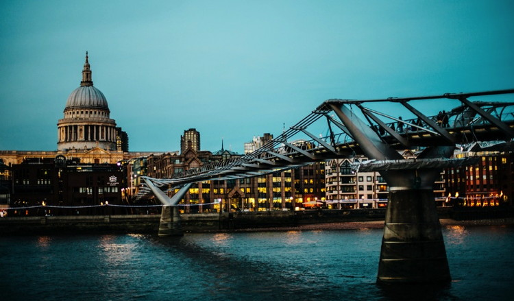 Millennium Bridge, London - Unsplash - Anthony Delanoix