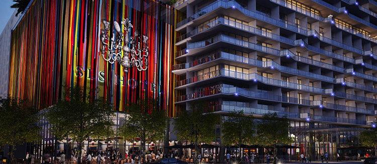 SLS Brickell Hotel & Residences in Miam i- Exterior