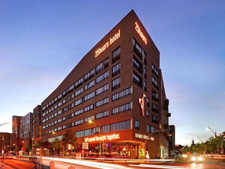 25h Hotel Hamburg Hafencity - Exterior