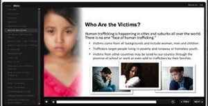Image from 'Your Role in Preventing Human Trafficking: Recognize the Signs' online course