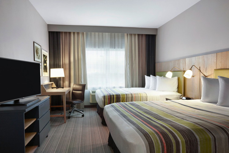 Country Inns & Suites By Carlson - hotel room
