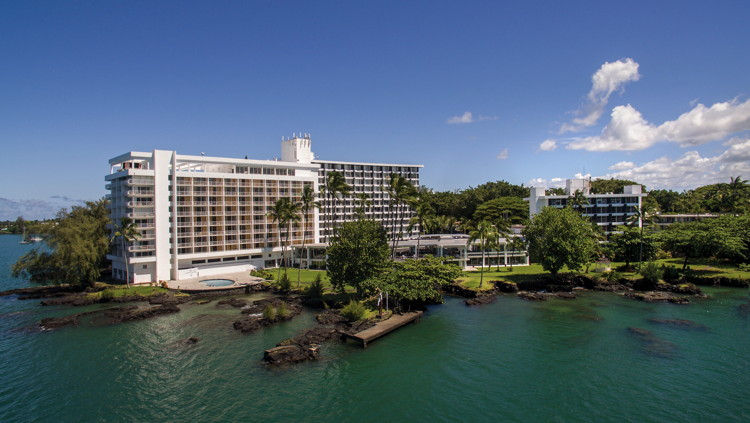 The Grand Naniloa Hotel Hilo - a DoubleTree by Hilton - View from the sea