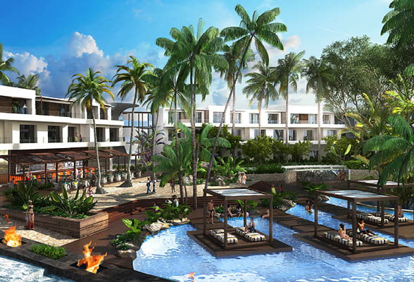 Rendering of the The Radisson Blu Beach Resort, Sal on Cape Verde Islands