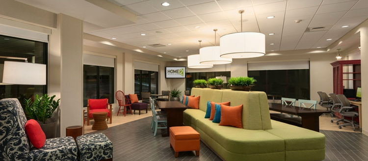 Home2 Suites by Hilton Denver International Airport - Lobby