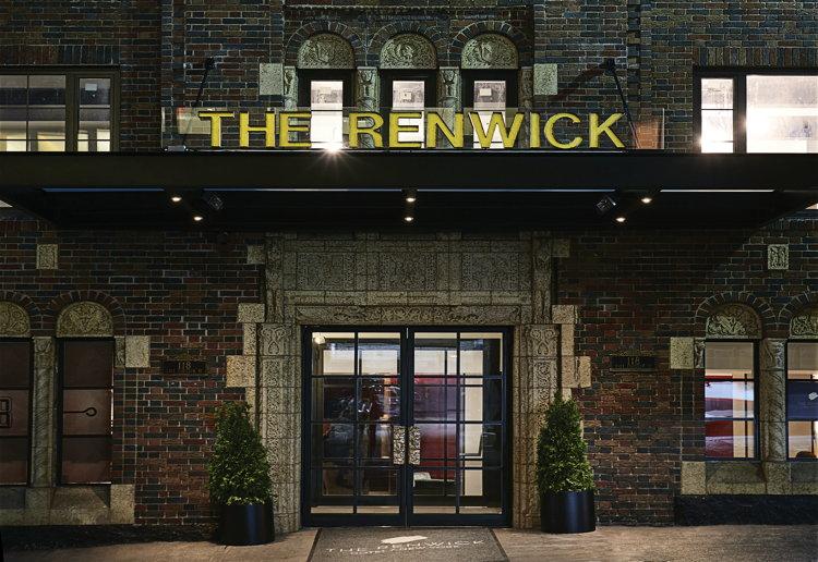 Renwick Hotel - Entrance