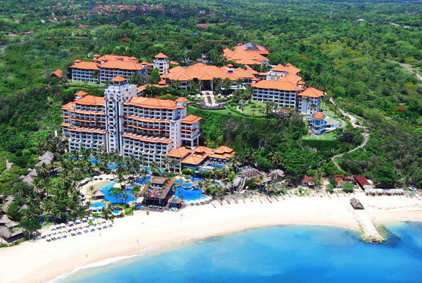 Hilton Bali Resort - Aerial view