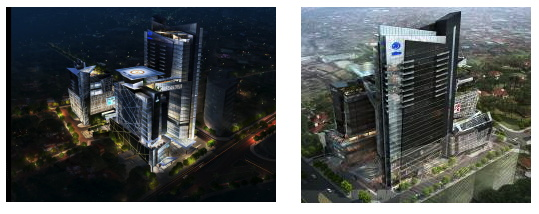 Rendering of the Hilton Asuncion