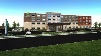 Rendering of the Holiday Inn Express & Suites Hermiston Downtown