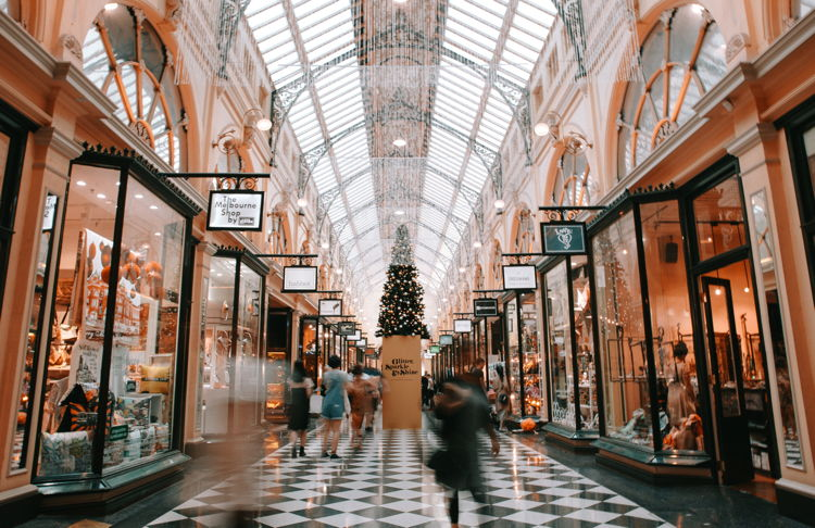 A shopping gallery - Unsplash