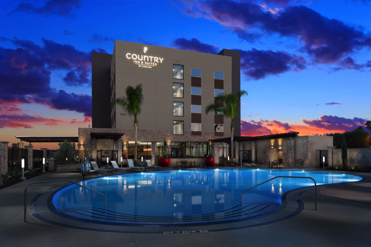 Rendering of the Country Inn & Suites by Carlson Anaheim, CA