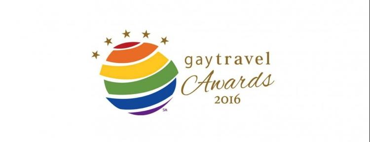 2016 Gay Travel Award Logo