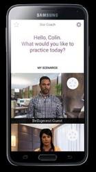 Screenshot - Star Coach app
