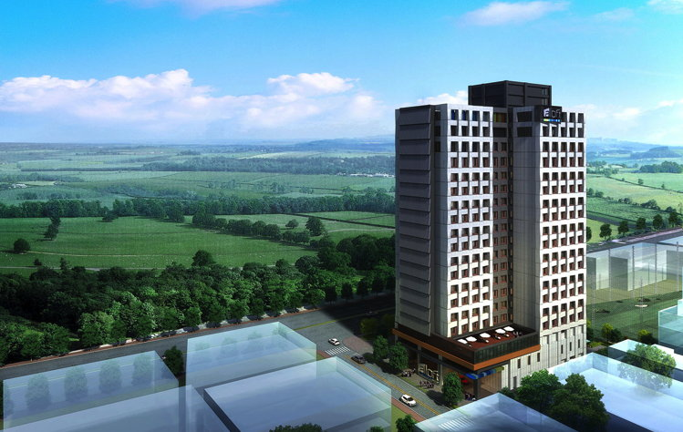 Rendering of the Aloft Taipei Beitou Hotel
