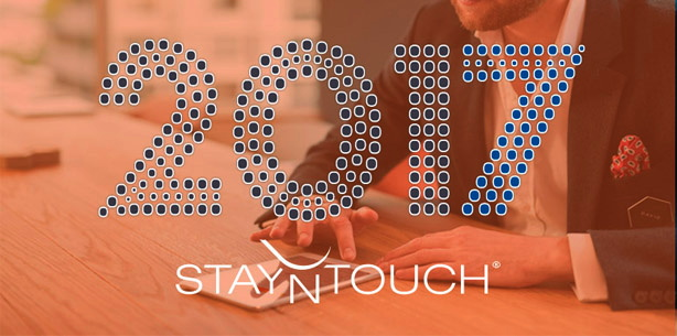 StayNTouch logo with the numbers 2017