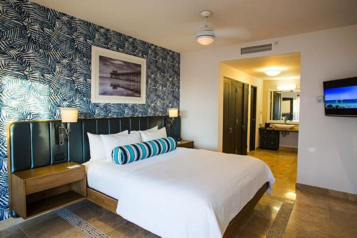 Hotel room at the Cachet Beach Hotel & Beach Club in Cabo San Lucas