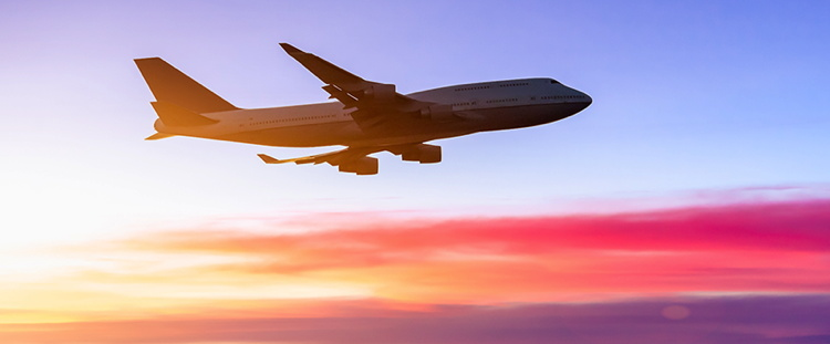 An airplane in flight - Source Expedia