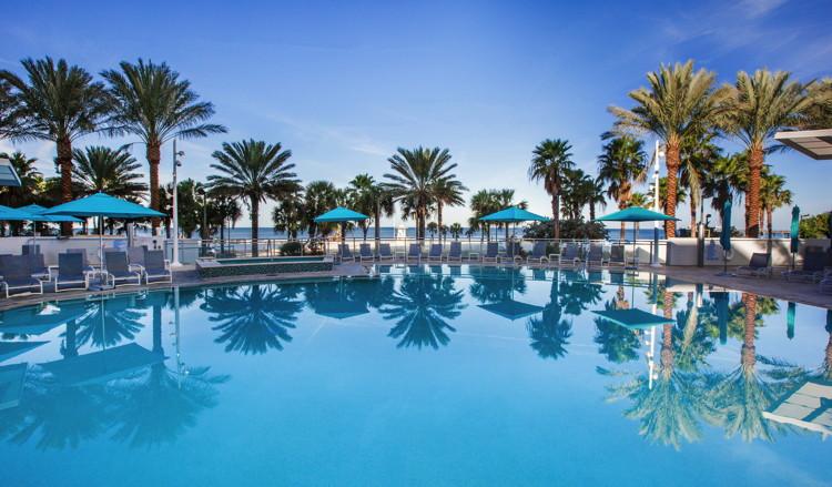 Wyndham Grand Clearwater Beach Hotel - Pool
