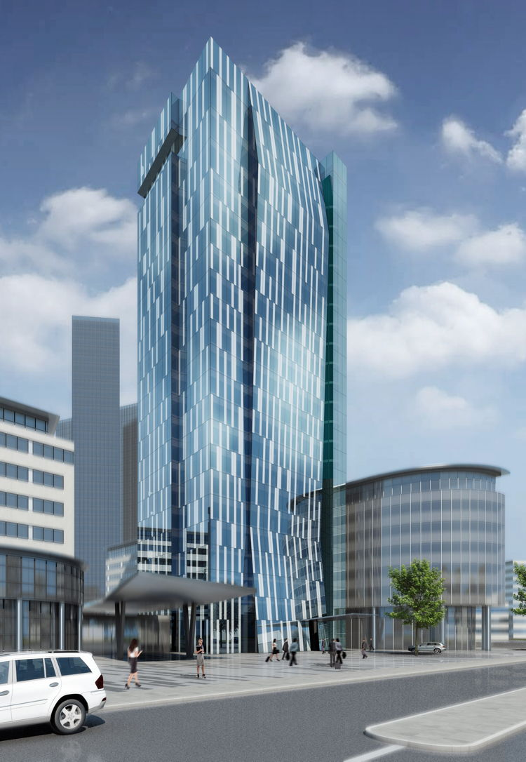 Rendering of the Holiday Inn Vienna – South Hotel
