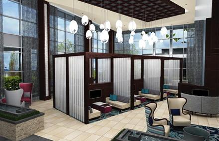 Embassy Suites by Hilton Atlanta NE Gwinnett Sugarloaf Hotel - Lobby