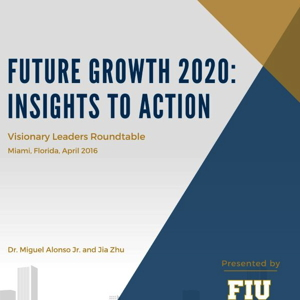 Cover page: Future Growth 2020: Insights to Action