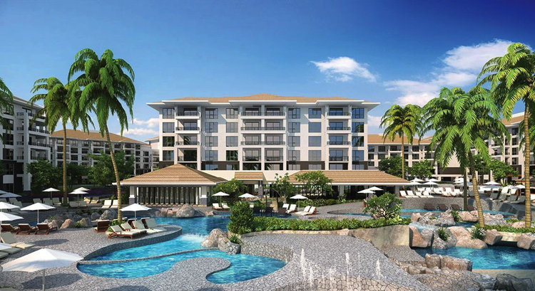 Rendering of the The Westin Nanea Ocean Villas