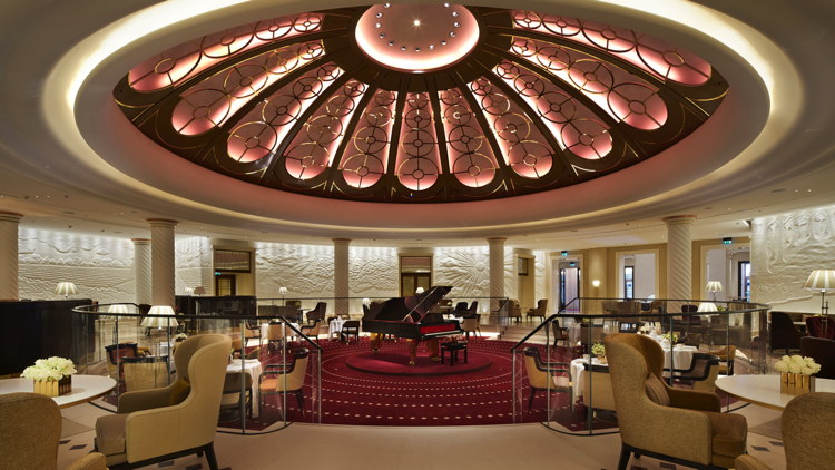 Rotunda Bar and Lounge at the Four Seasons Hotel London