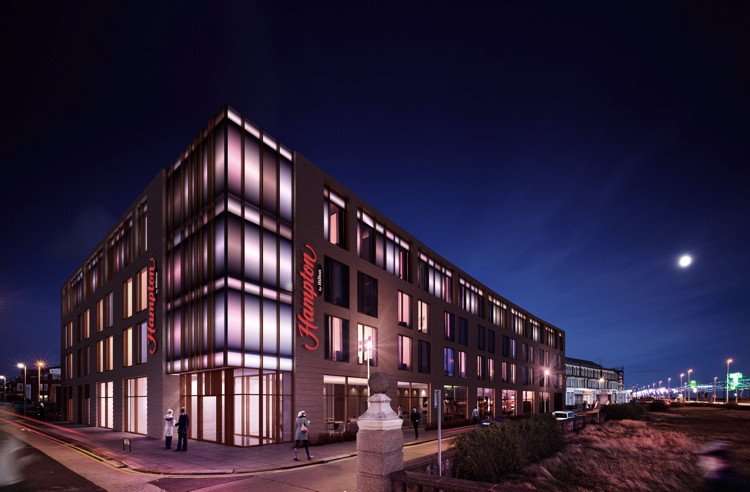 Rendering of the Hampton by Hilton Blackpool Hotel