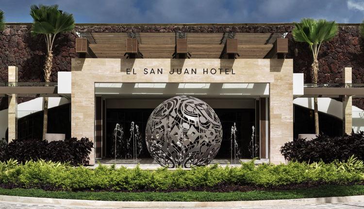 El San Juan Hotel in Puerto Rico - Entrance