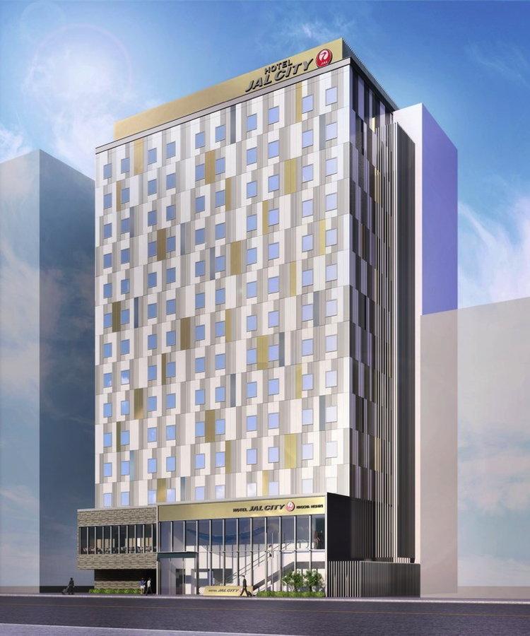 Rendering of the Hotel JAL City Nagoya Nishiki