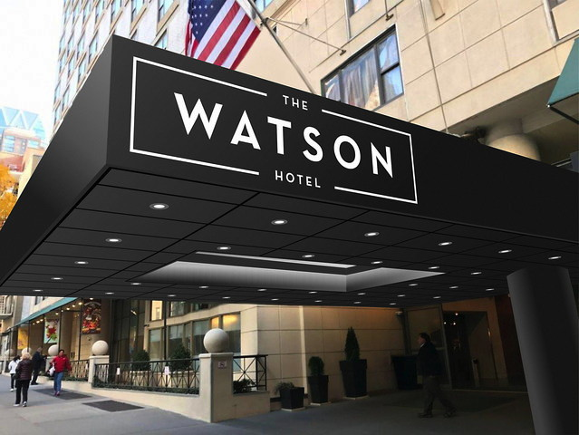 Holiday Inn Midtown Nyc Goes Independent As The Watson Hotel