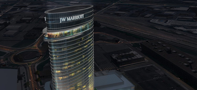 Rendering of the - JW Marriott Nashville