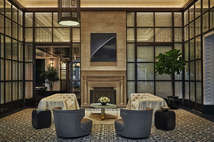 The Pendry San Diego Opens - Lobby - Credit: Christian Horan