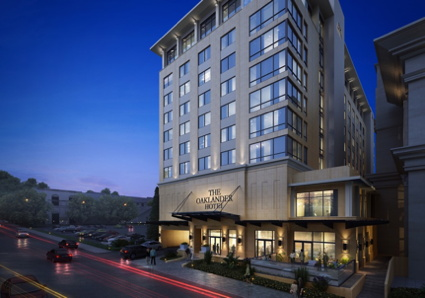 Rendering of the The Oaklander Hotel in Pittsburgh