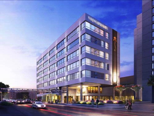 Rendering of the the Tennessean Hotel in Knoxville