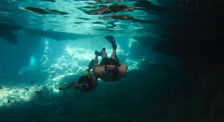Thunderball Grotto, Staniel Cay, Exuma