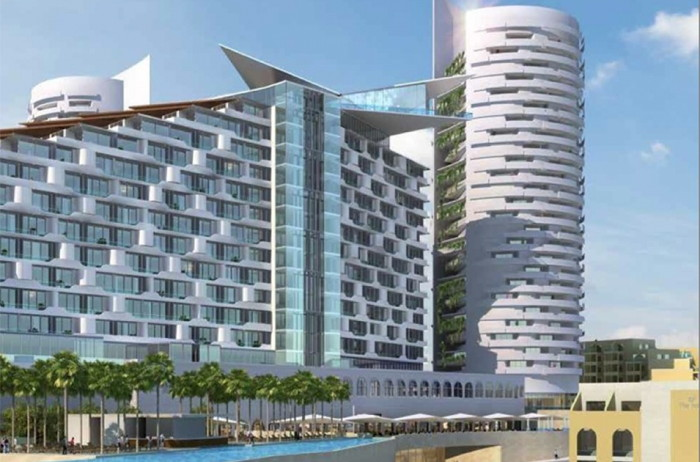 Rendering of the Hard Rock Hotel Malta