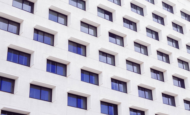 A hotel exterior - Unsplash