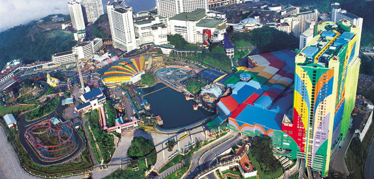 Genting Malaysia - Aerial view