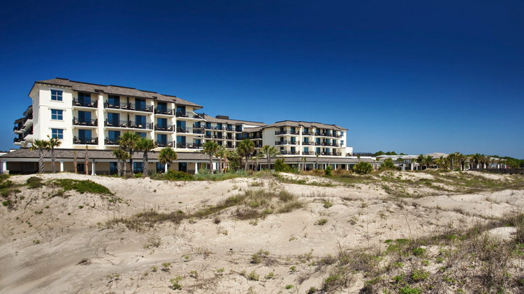 Westin Jekyll Island Hotel - View from ocean