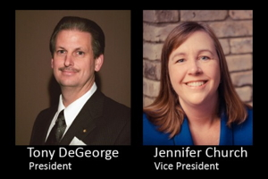Tony DeGeorge and Jennifer B. Church