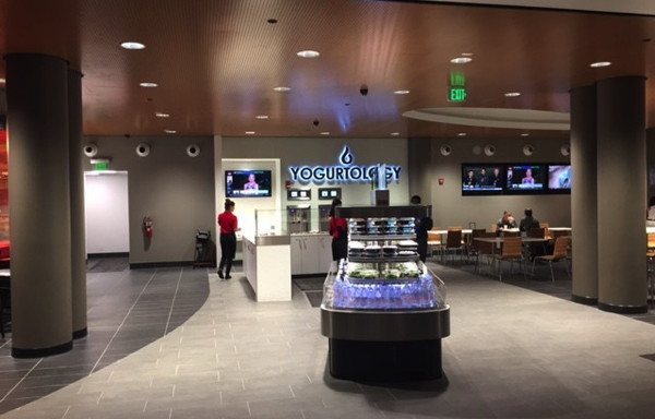 Yogurtology store at Tampa International Airport