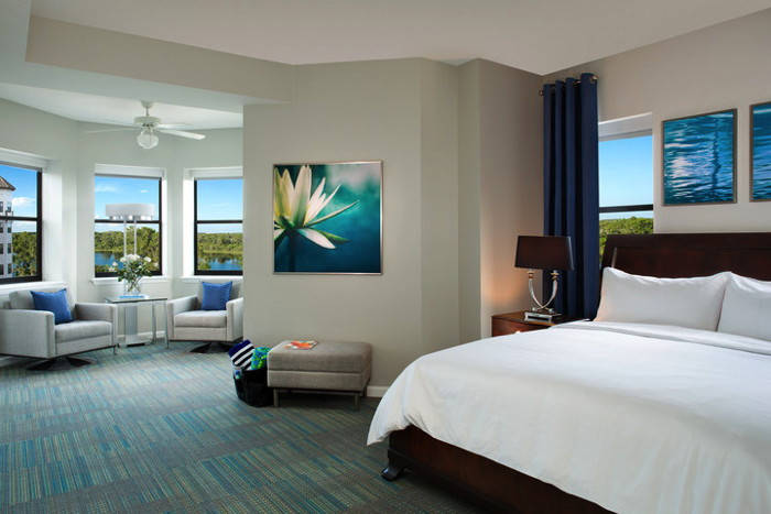 Guest suite at The Grove Resort & Spa Orlando