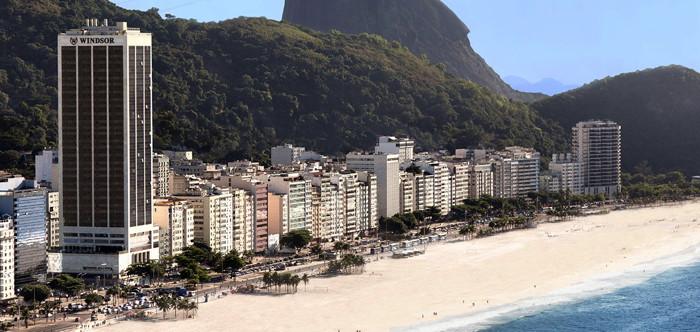 Windsor Atlantica Hotel in Rio De Janeiro - Aerial view