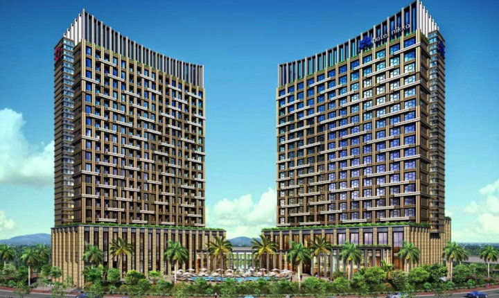 Rendering of the Hotel Nikko Hai Phong in Vietnam